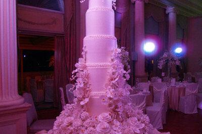 Divertidos y elegantes pasteles de boda Sylvia Weinstock
