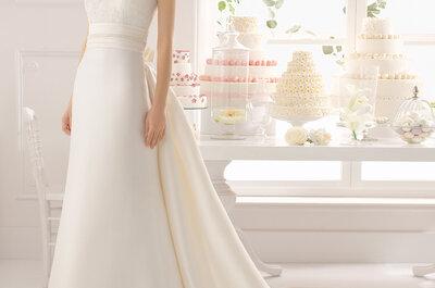 El vestido de novia que le queda bien a todas: Los mejores modelos con cintura ceñida