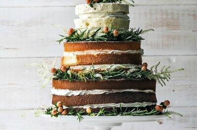 Las 13 mejores ideas para pasteles de boda. ¡Querrás comerlas con los ojos!