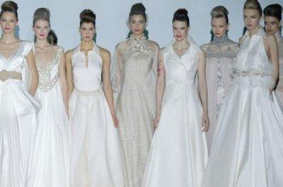 Suknie ślubne 2014: kolekcja Isabel Zapardiez