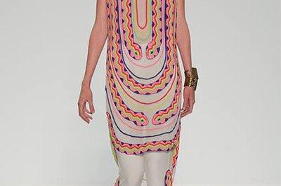 Rompe paradigmas con el multicolor de Mara Hoffman: Vestidos de fiesta primavera 2014