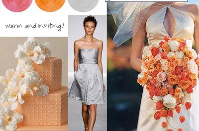 Ponadczasowe palety kolorystyczne na ślub - zainspiruj się!