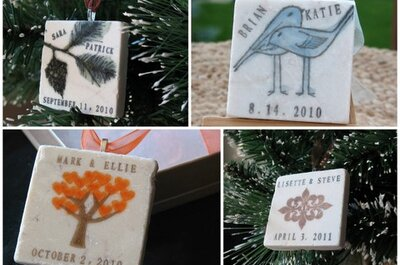 Etsy Wedding Wednesday 11.10.10 - Ornaments
