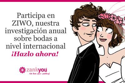 Investigación anual sobre bodas a nivel internacional, ZIWO 2012