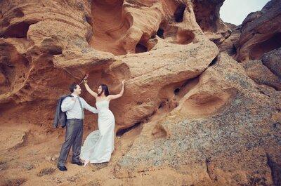 La naturaleza en estado puro presente en estas inolvidables fotos de boda