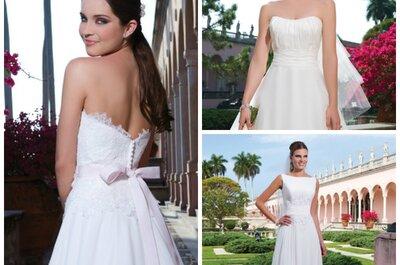 Die Brautkleider der Kollektion 2015 von Sweetheart: elegante und romantische Brautkleider für Ihre Hochzeit!