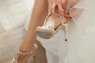 Passende Brautschuhe für die Hochzeit finden? - Diese Tipps helfen!