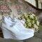 Las zapatillas de novia, una alternativa cómoda y hermosa para una mujer que prefiere calzado de novia poco convencional.