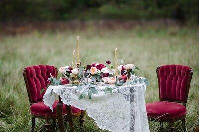 Come decorare il tuo matrimonio con le tonalità del porpora: romanticismo assicurato!