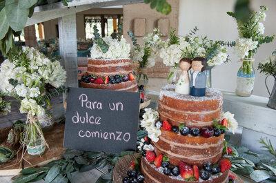 3 tradiciones relacionadas con el pastel de bodas