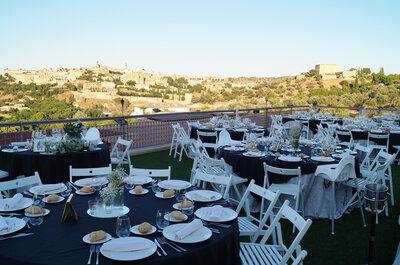 Cigarral El Bosque: tu boda con vistas al casco histórico de la ciudad de Toledo