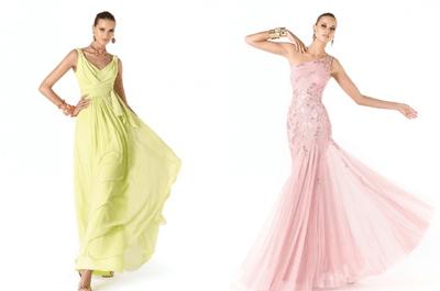 Vestidos de fiesta 2014 colección Pronovias