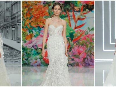 Vestidos de novia escote corazón 2017: 30 magníficos diseños que te harán soñar
