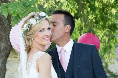 Le mariage multiculturel rempli de partage et de tendresse de Sonia et Samir