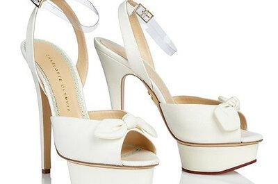 Charlotte Olympia lanza una colección de zapatos de novia con corazones