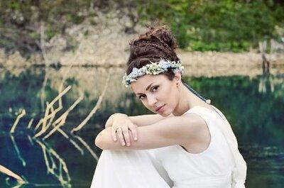 Propozycje bukietów ślubnych w stylu greckim