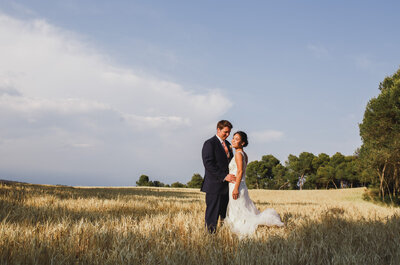 Una espectacular destination wedding en una finca catalana: la boda de Simon y Melanie
