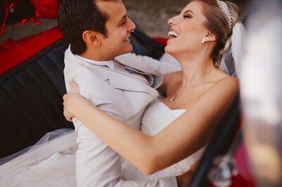 Juliana & Pedro: casamento clássico une paranaense e baiano em Curitiba