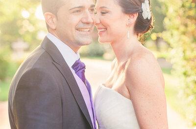 Real Wedding: Romance y luz de principio a fin en la hermosa boda de Yolanda y José Luis