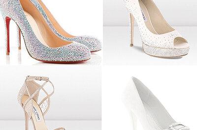 5 consejos prácticos para elegir los zapatos de novia