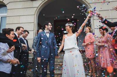 Pauline et Julien :  un mariage jazz-manouche aux allures chic!