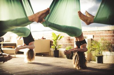 Conheça as novas tendências do fitness: Kangoo e Yoga Suspenso