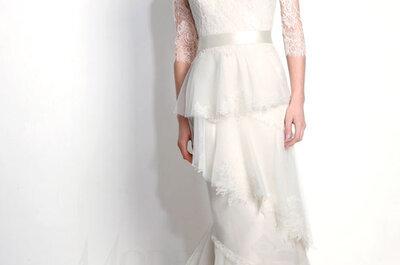 Os 60 melhores vestidos de noiva 2015 de marcas americanas