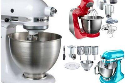 Revival eines Klassikers: Küchenmaschinen als Hochzeitsgeschenk!