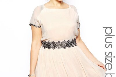 Moda weselna w rozmiarze XXL ze sklepu Asos.com