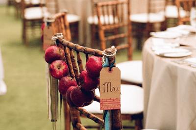 Passende Stühle für die Hochzeit