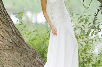 Vestidos de noiva Marie Laporte 2015: beleza bucólica e delicada