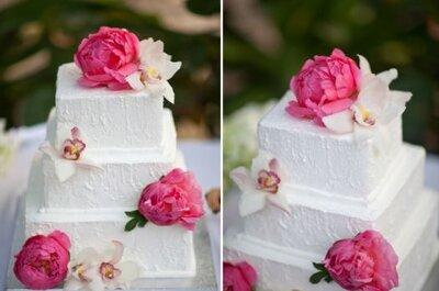 Real Wedding: Um casamento com tons cor-de-laranja e cor-de-rosa