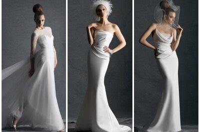 Francuska klasyka w kolekcji sukien ślubnych Cymbeline 2014