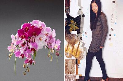 Arreglos florales de boda diseñados por Vera Wang