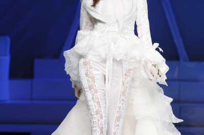 Trend für 2013: Trauen Sie sich in einem Hosenanzug anstatt einem Brautkleid
