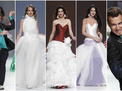 Desfile da colecção de vestidos de noiva Jordi Dalmau 2013: um show