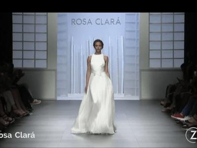Rosa Clará Spring 2016 Barcelona Bridal Week Catwalk
