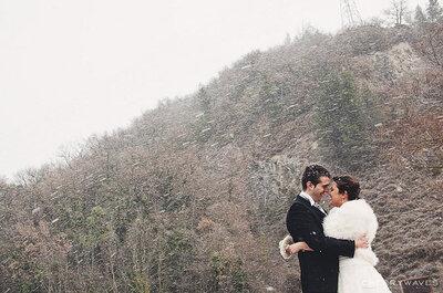 Brrrrr... ecco i 5 must have per la perfetta sposa invernale