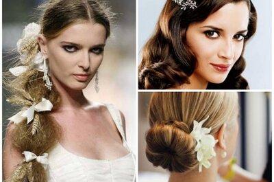 Die schönsten Brautfrisuren für lange Haare!