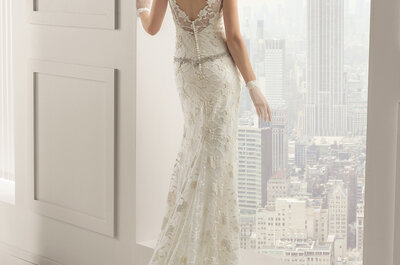 Dresses for petite brides: Lengthen your silhouette