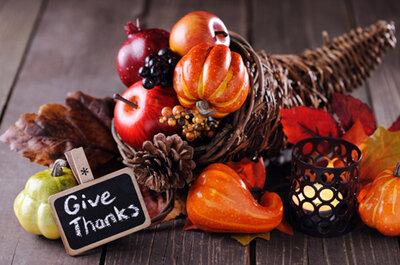 5 razones para planear una boda con tema de Acción de Gracias