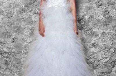 Vestidos de novia con estilo románticos