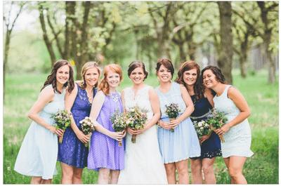 Los mejores vestidos para tus damas de boda
