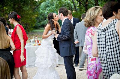 ¿Cena o cóctel para la recepción de tu boda?