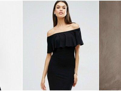 Schwarze Festkleider 2017 – Als Hochzeitsgast im klassischen Schwarzen glänzen