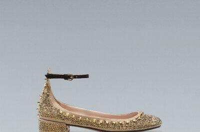 Zapatos para novia de la colección de otoño de Zara