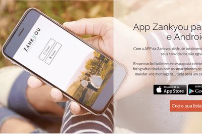 Descarregue a app da Zankyou e organize o seu casamento a partir o seu telefone