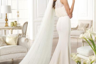 Camina al altar y cautiva miradas: Los vestidos de novia corte sirena serán tus aliados