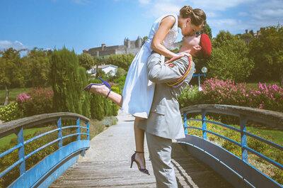 L'émouvant mariage de Jean-Luc et Emilie près de Carcassonne