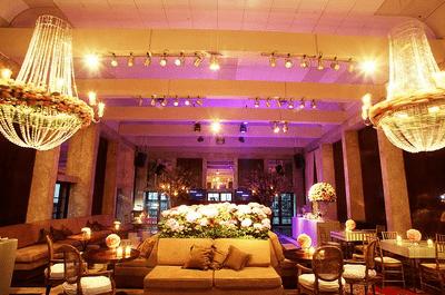 Ideen für die Beleuchtung der Hochzeitsfeier